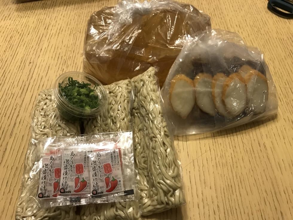 沖縄県恩納村なかむらそば具材一式