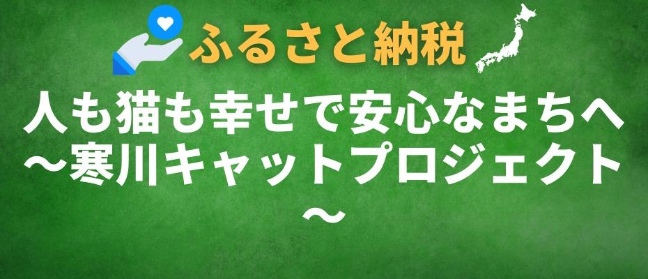 人も猫も幸せで安心なまちへ~寒川キャットプロジェクト~